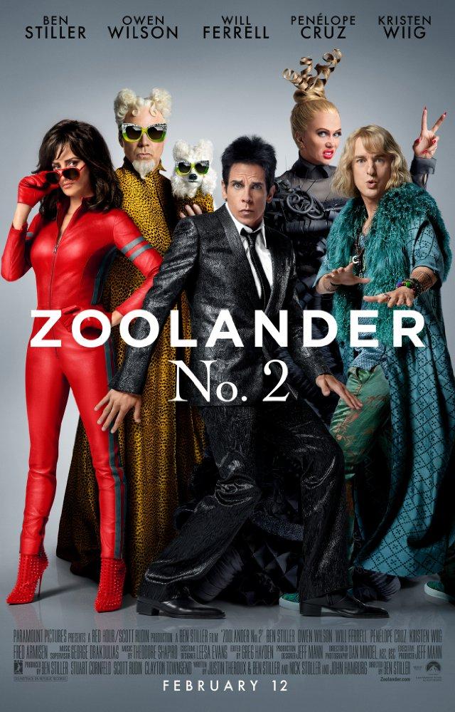 Nonton Zoolander 2 (2016)
