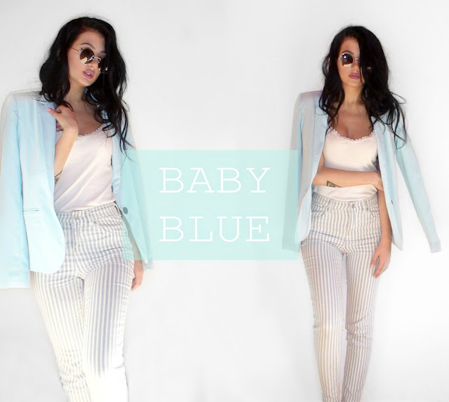 baby blue outfit ideas pinterest