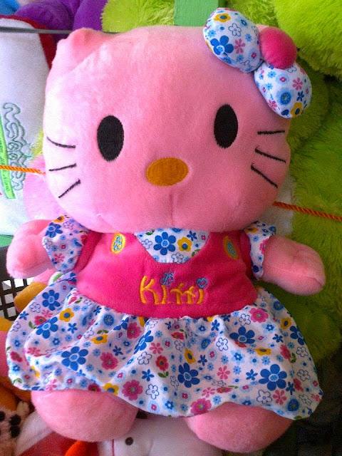 Gambar boneka hello kitty besar / Jumbo 50 CM harga 48 + ongkir