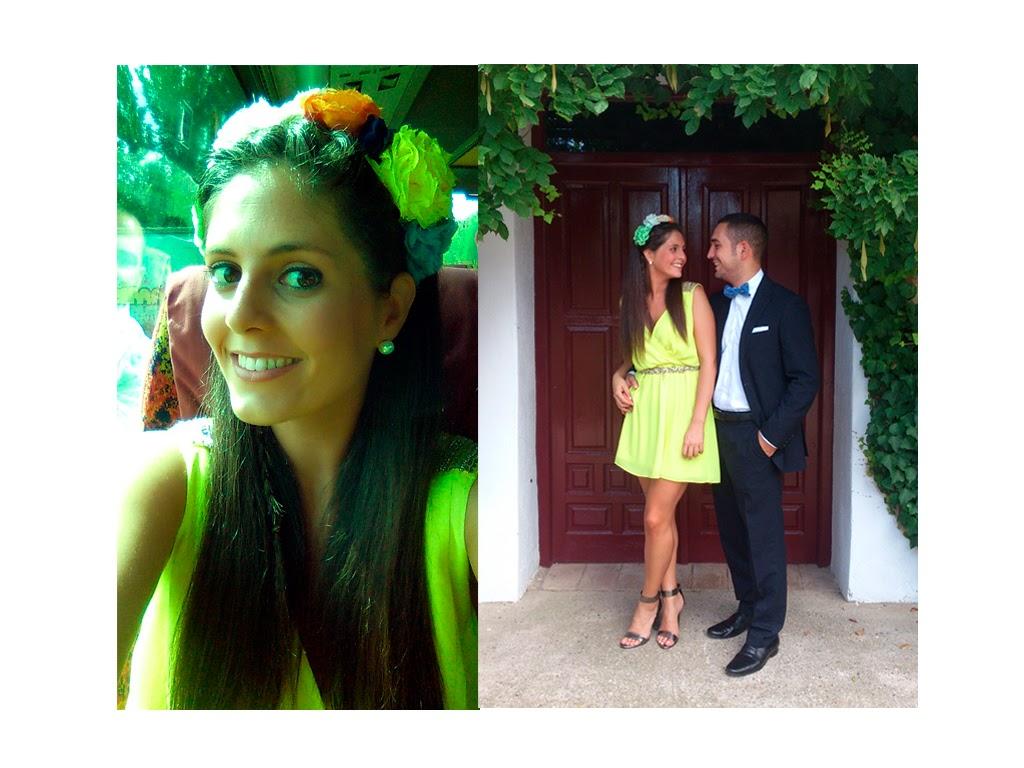 wedding guest look_flowers crown