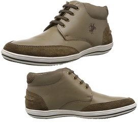 Lowest Price:Buckaroo Men's Leather Boots worth Rs.3295 for Rs.1153 Only (Flat 65% Off)