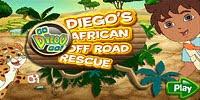 Диего спасает африканских животных - Diegos African Off Road Rescue