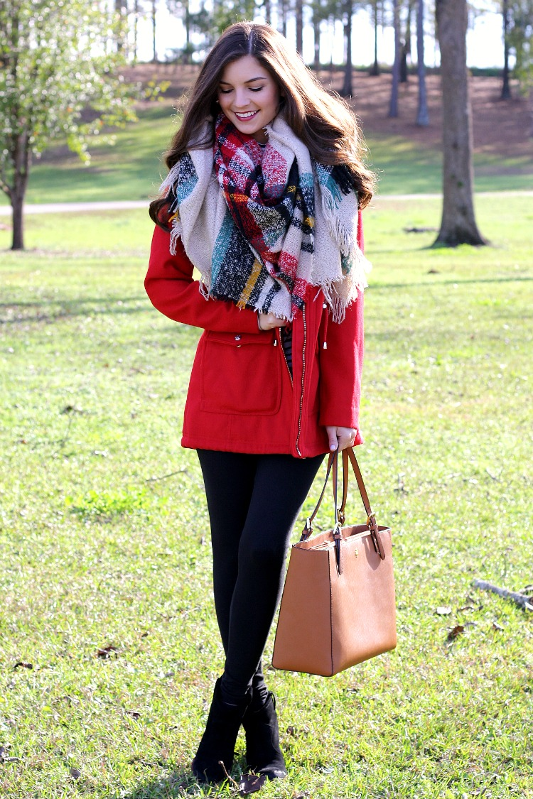 Chasing Abigail Lee : A Gorgeous Winter Red Coat