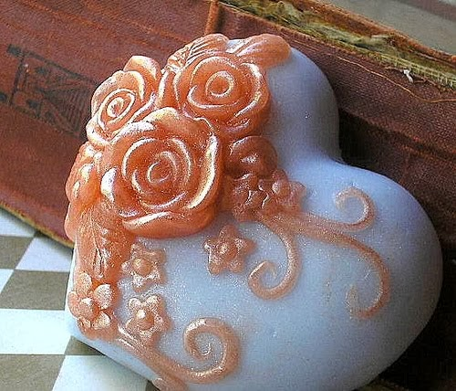 Gift Boxed Victorian Heart Soap