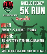 5k in Cork City...Sun 27th Aug 2017