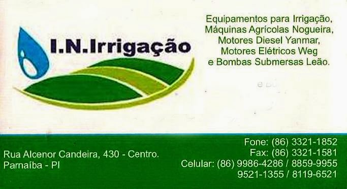 I.N IRRIGAÇÃO