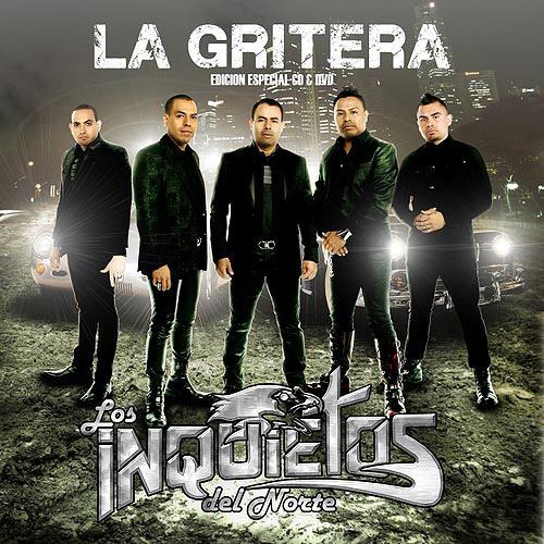 Los Inquietos Del Norte - La Gritera (Disco - Album 2012)