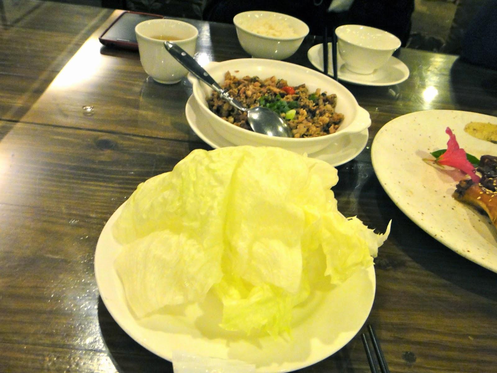 Misty Villa Cabbage and Minced Pork Dinner