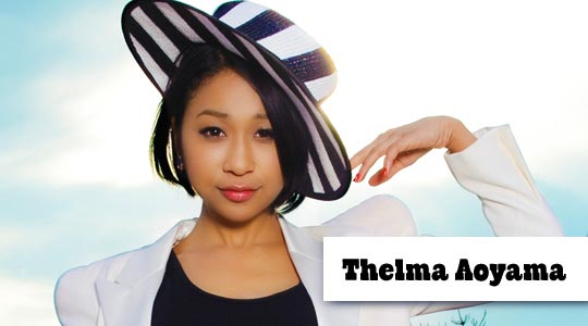 singles in thelma People with the name thelma aoyama , japanese pop singer thelma barlow ,  surpassing the japanese digital sales record of thelma aoyama 's single  soba ni iru ne .