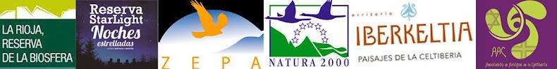 - Reserva de la Biosfera - Reserva StarLight - Red Natura 2.000 - Espacio de la Celtiberia -