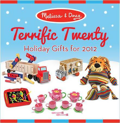 Terrific Toys, Giveaway, Melissa and Doug, Christmas Gifts