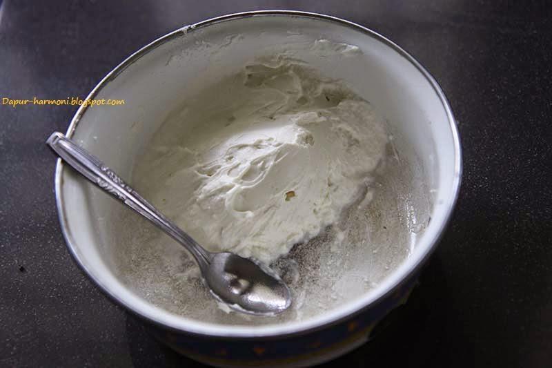 Dapur Harmoni: Cara Mudah Membuat Cream Cheese Gadungan