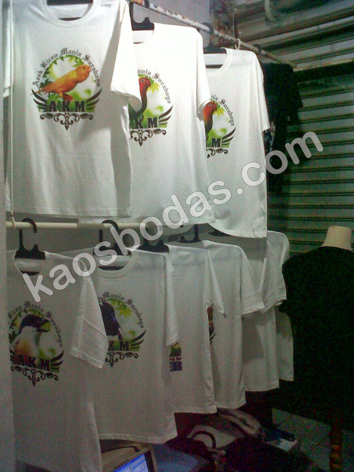Kaos Burung Surabaya