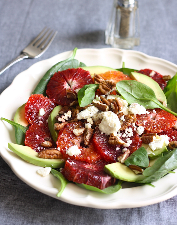 Blood Orange and Avocado Salad by SeasonWithSpice.com
