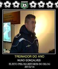 TREINADOR DO ANO ÉPOCA 2013/2014