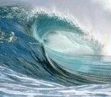 ¿por qué las olas llegan en grupos de siete?