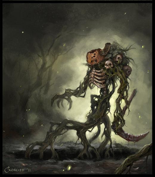 Pumpkin Warrior por AlexanderExorcist