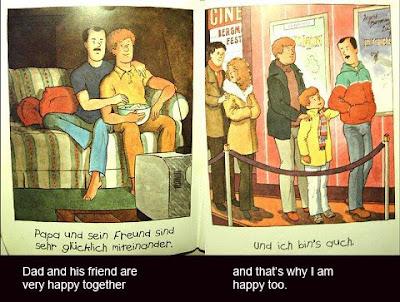 dibujos de niño feliz con la felicidad de su padre y su nueva pareja