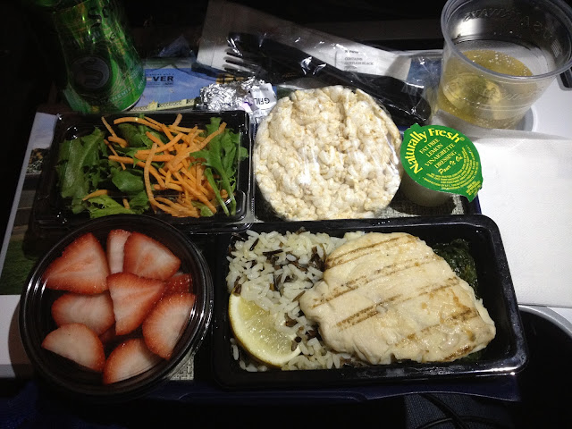gluten free meal bei US Airways
