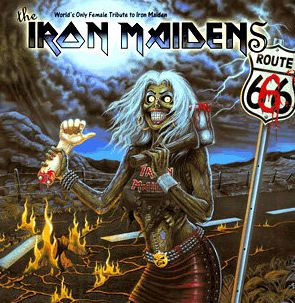 Iron maiden up the irons