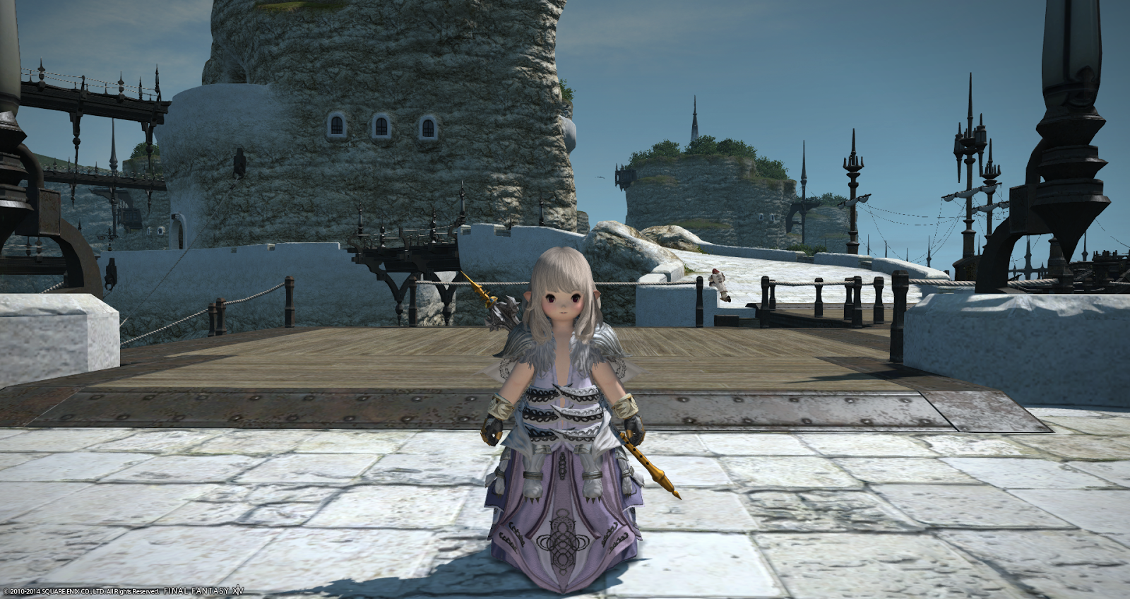 Scylla's Robe from Syrcus Tower. Damn does this make me look fat or ...