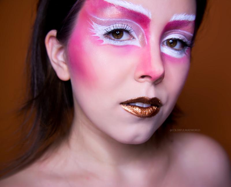 colorful make-up. fairy inspired make-up, fairy make-up,fairy editorial look, colorful editorial make-up, make-up trends 2015/2016, makijażowe trendy 2015/2016, sezon lato/jesień, blog makijażowy, wróżka, makijaż do sesji zdjęciowej, blog o makijażu, sienia blog, kolorowy makijaż blog,   colorful mad world, colorful mad world blog