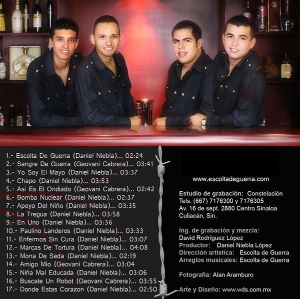 Escolta De Guerra - Apoyo Del Niño CD Album 2009