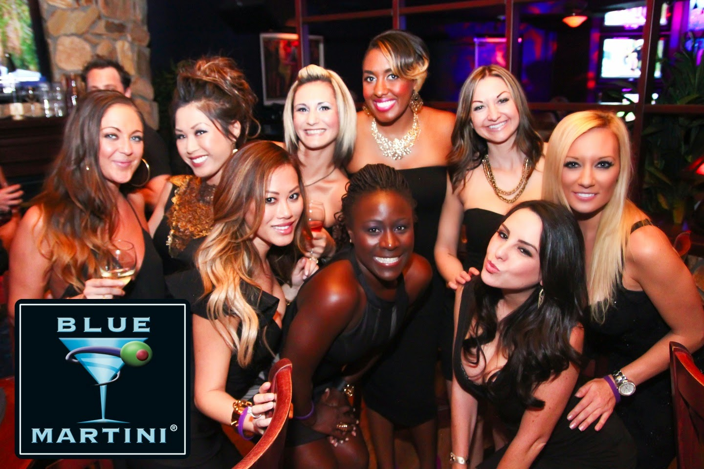 Fashionable Event at Blue Martini: The Little Black Dress Party!