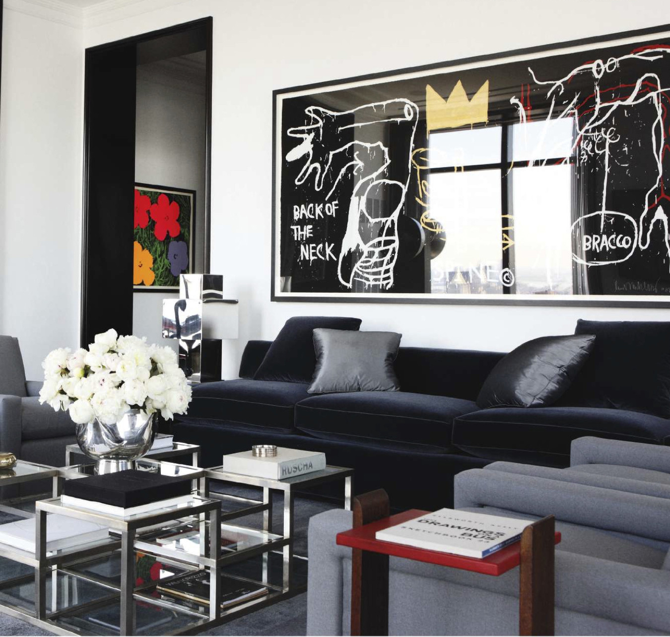 manhattan interiors drew aaron and hana soukupova s manhattan apartment Inside Hana Soukupovau0027s Luxurious Manhattan Apartment