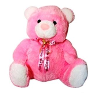 Boneka Teddy Bear Pita Jumbo Pink