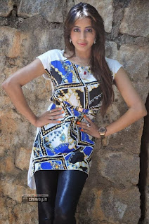 Actress-Sanjana-New-Stills-at-Nenem-Chinna-Pillana-Interview