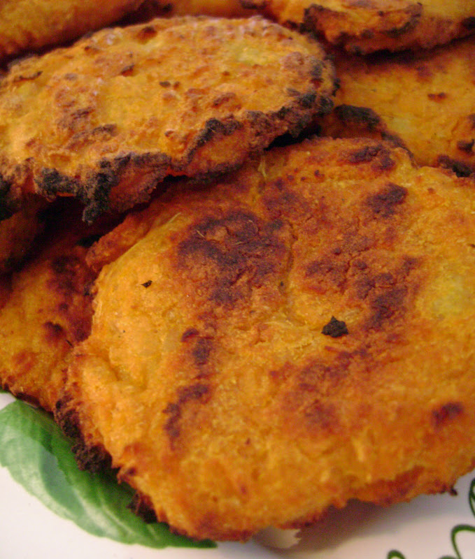 Jo and SueBaked Indian Spiced Sweet Potato Patties