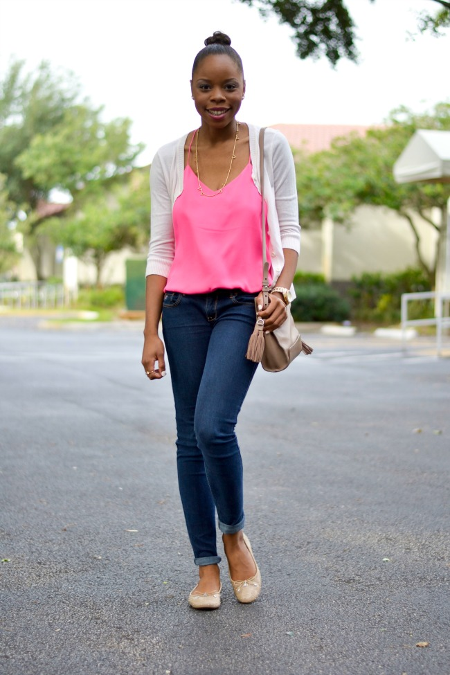 Bright Barcelona Cami   Summer Outfit Ideas