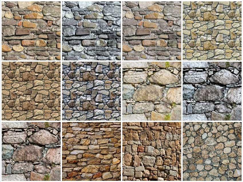 Sketchup Texture: Texture Stone Walls, Masonry
