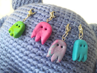 Monster Stitch markers by Niccupp Crochet