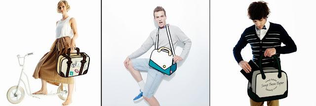 Modelos con bolso creativo Jumpfrompaper