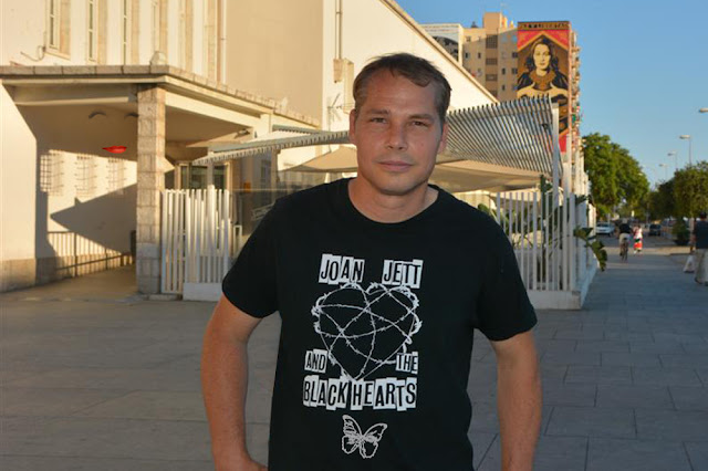 Los Angeles-based artist Shepard Fairey is having his first solo exhibition in a Spanish museum at the Centro de Arte Contemporáneo de Málaga, curated by Fernando Francés.