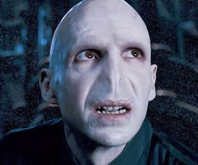 Voldemort and his red eyes