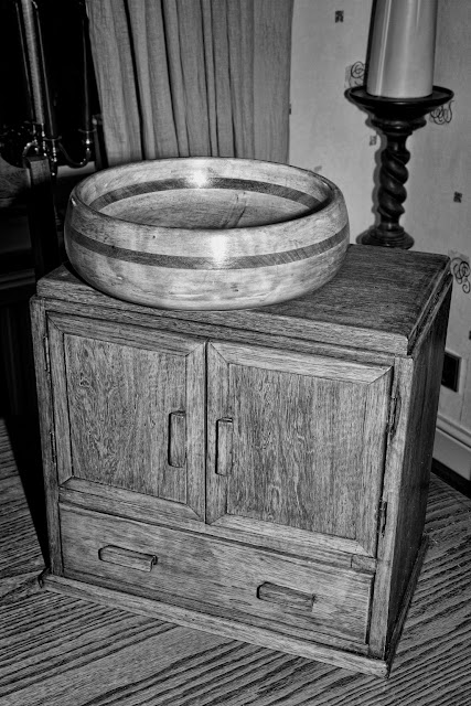 Cabinet and Bowl