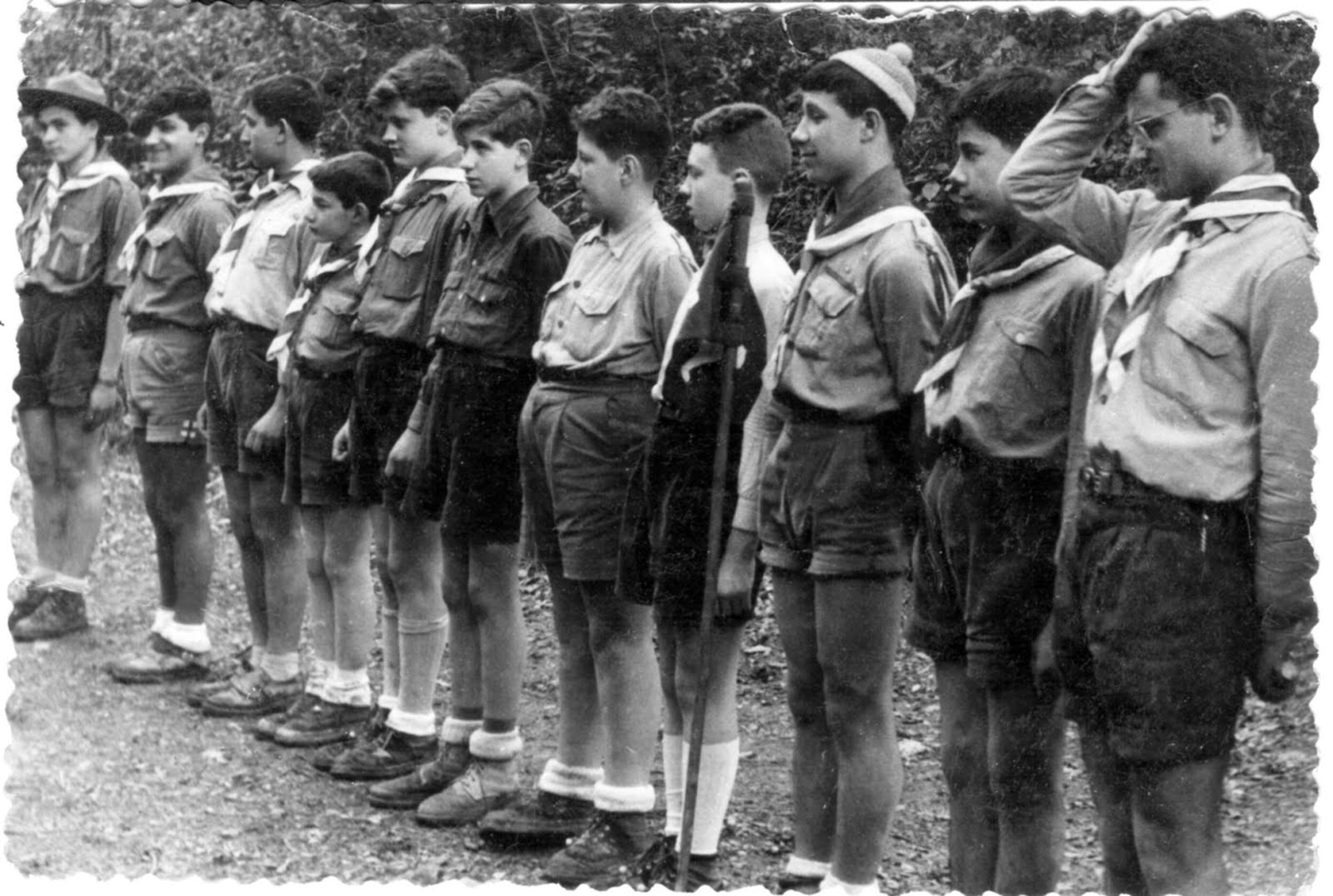 Boys Scouts de Catalunya any 1950-60