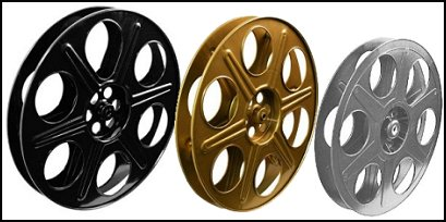 Movie Reel wall decorations
