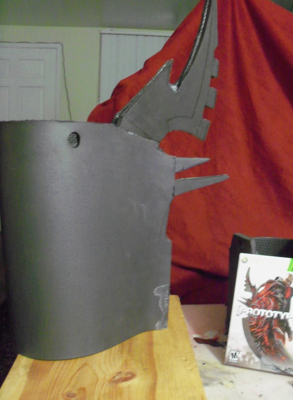 My fantasy armor creations: New project- Prototype 2 Blade arm