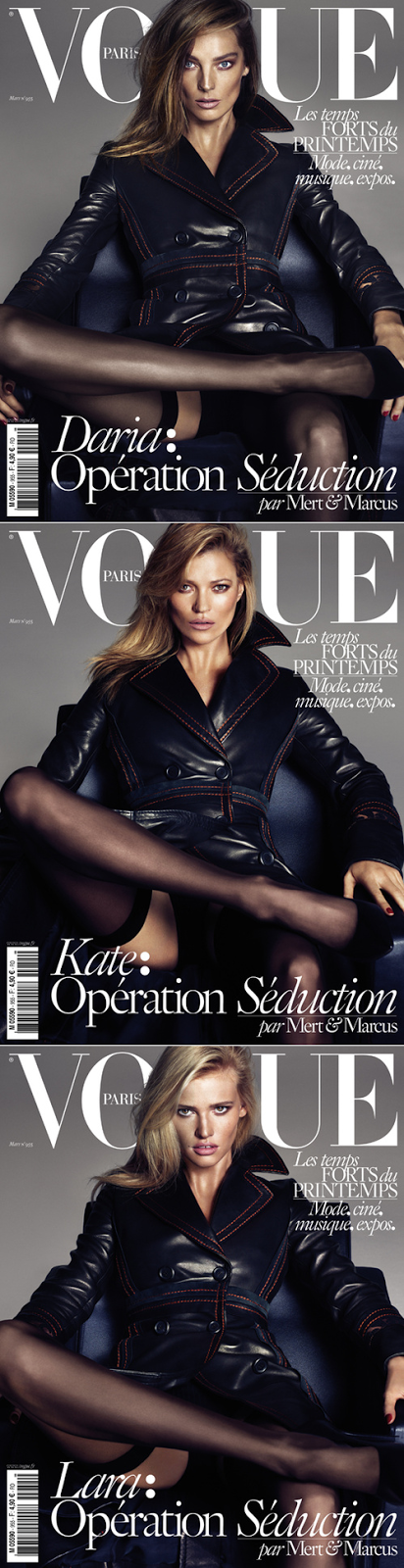 WANTED: VOGUE PARIS MARCH 2015.