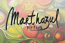 Las pinturas de Marthazul