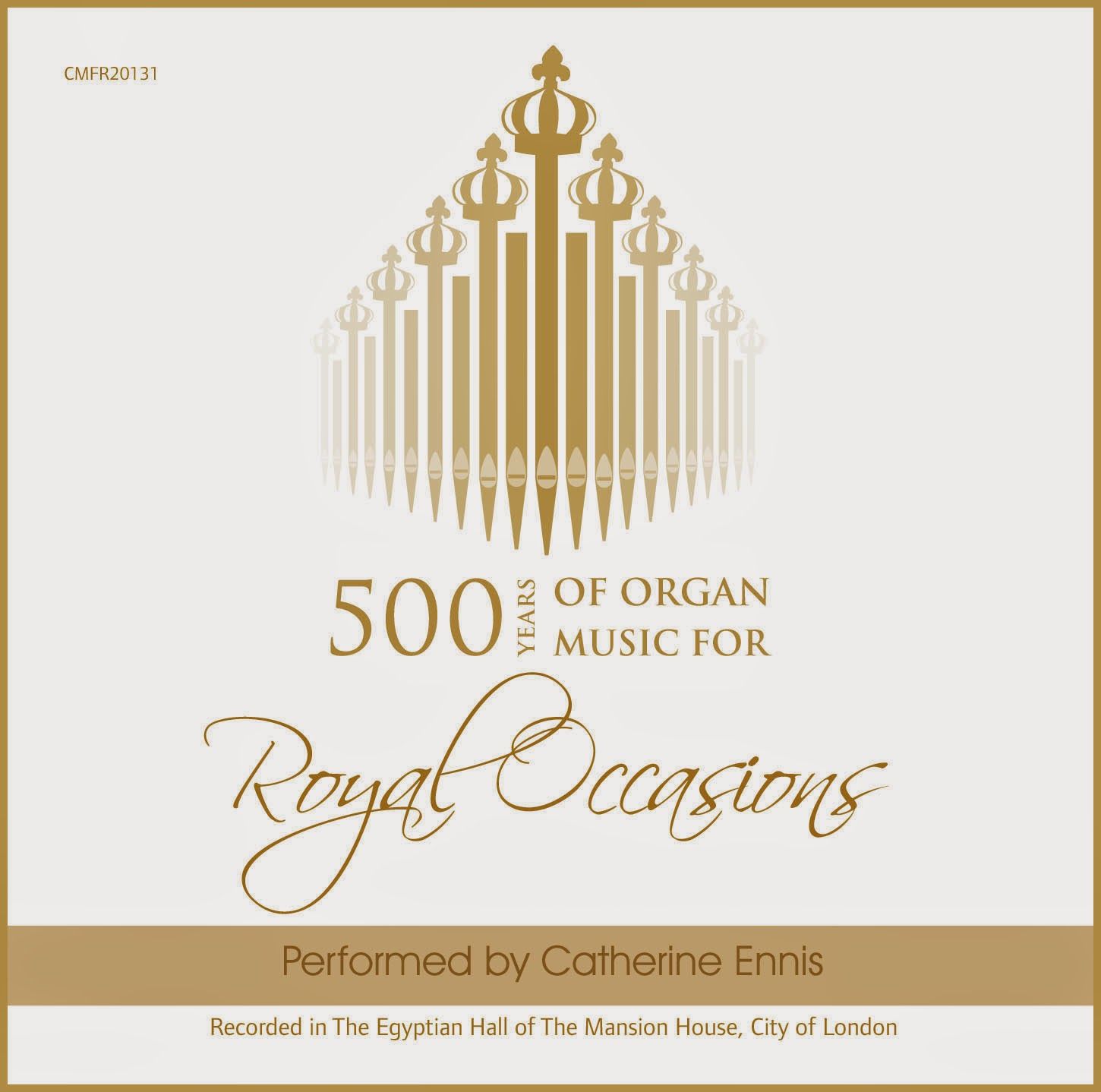 500 years of organ music for Royal occasions