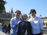 Visita fraterna de las hnas. Ana María y Anetta, 15-27 de mayo.2012
