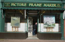 Ian & Doreen Eggleton, The Picture Frame Maker, Church road, Caversham.
