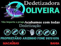 Dedetizadora Oliveira