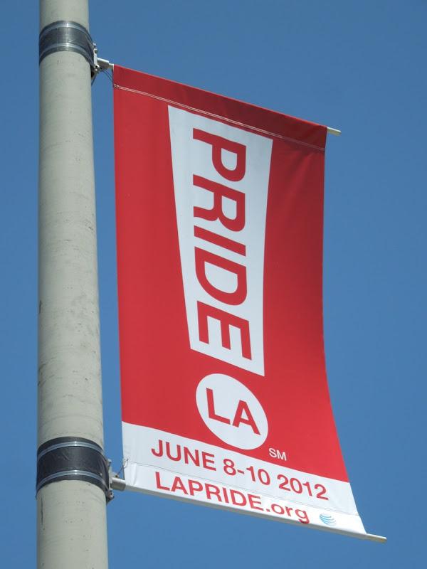 Pride LA banner 2012