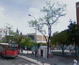 Colegio Alemán de Madrid en la calle Concha Espina esquina con Serrano